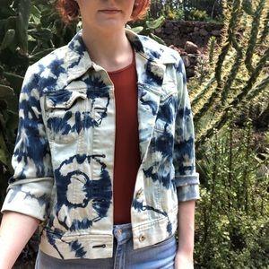 Gap Bleach Tie Dye Jean Jacket